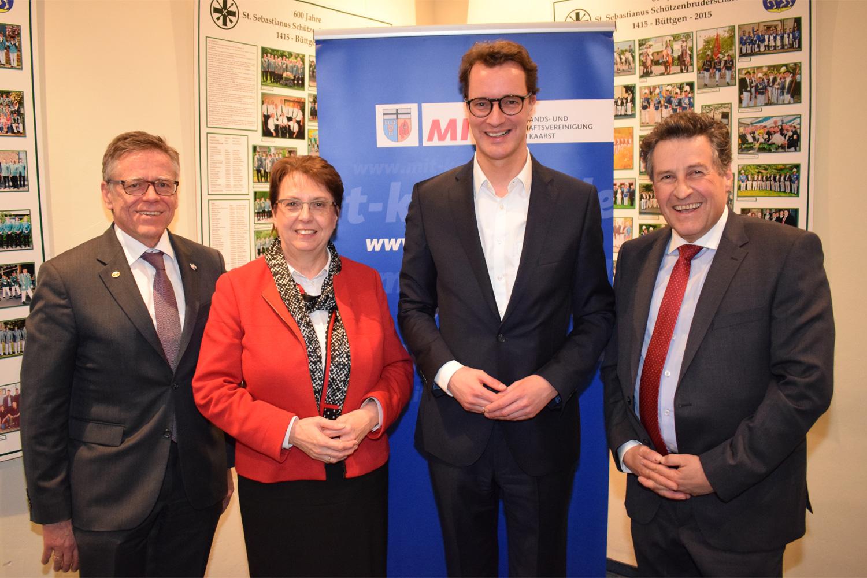 NRW-Verkehrsminister folgt Einladung nach Kaarst